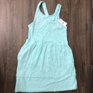 Crewcuts brilliant aqua summer dress
